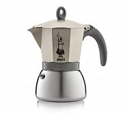 Bialetti Moka Induction, Kávovar moka kanvička, Light Gold, objem 6 šálok
