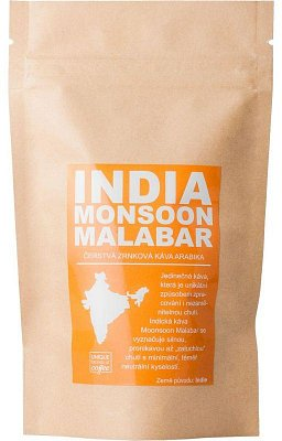 India Monsoon Malabar AA - čerstvá káva Arabica 50 g